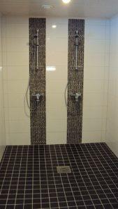 Uudisrakentamista siuntiossa kylpyhuone