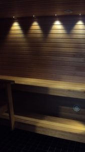 Uudisrakentamista siuntiossa sauna