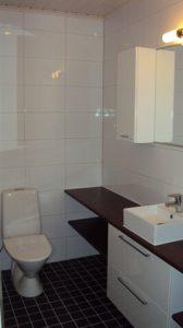 Uudisrakentamista siuntiossa wc